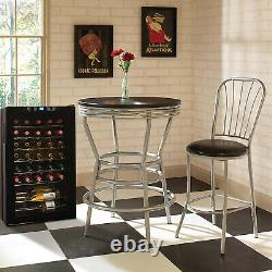 Vinotemp 34 Bottle Touch Screen Wine Cooler with Glass Door, Black (For Parts)