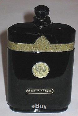 Vintage Caron Nuit de Noel Perfume Baccarat Bottle 2 OZ Open 3/4 Full 4 1/4