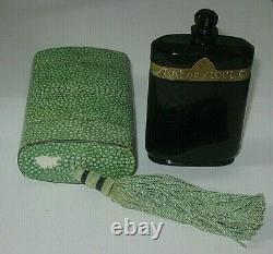 Vintage Caron Nuit de Noel Perfume Baccarat Bottle/Box 2 OZ Sealed 1/4 Full