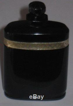 Vintage Caron Nuit de Noel Perfume Baccarat Style Bottle/Box 1 OZ, 1/2 Full #2