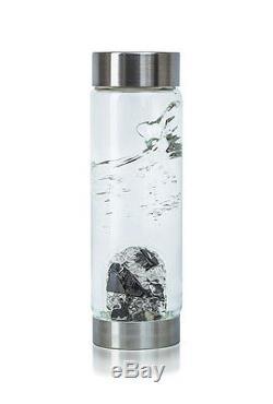 VitaJuwel ViA Vision CrystalEdition glass drinking bottle noble shungite crystal