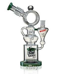 Water Pipes Distillation WOW Lookah Glass Bong with classic design Shisha Bottle