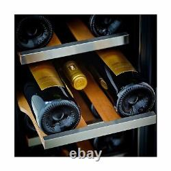 Whynter BWR 18SD Wine Refrigerator 18 Bottle Storage Double Pane Glass LED Light