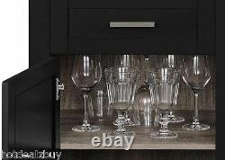 Wine Cabinet Bottle Holder Glass Rack Buffet Storage Shelves Kitchen Drawer Bar