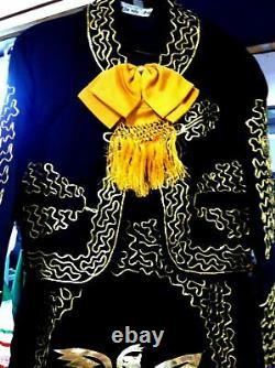 Women's Mariachi Charro Dress Outfit Mexico Folklorico 5 De Mayo Fiesta New
