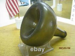 Wow Florida Keys Shipwreck Find Pontil1700's Bulbous Black Glass Dutch Onion